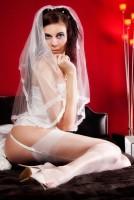Echte Nylons für die Hochzeit