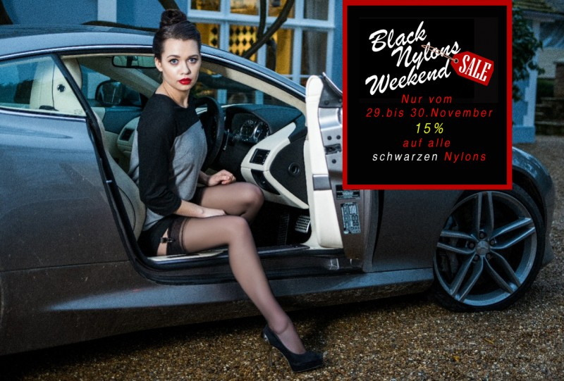 Stocking Soceity SHOP Black Nylon Weekend