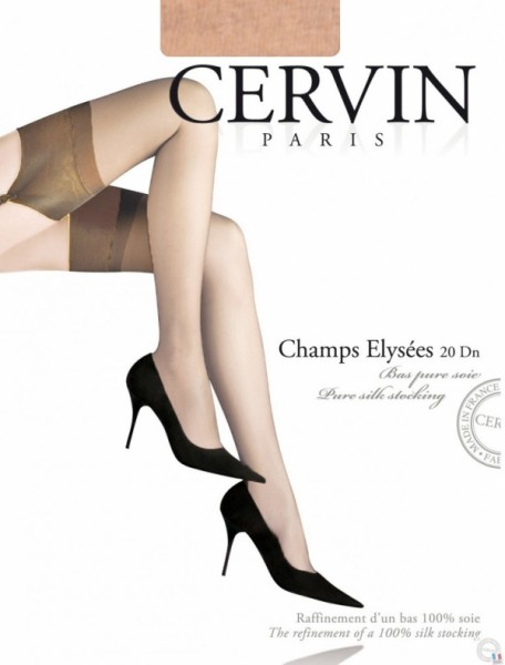 Cervin-champs-elysees-gazelle-seide-im Stocking-Society SHOP